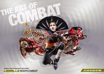bodycombat lemilles guerrero adrenalina energía deporte artes marciales música