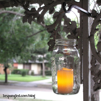 DIY Mason Jar Hanging Lanterns - DIY wedding craft tutorial (video)