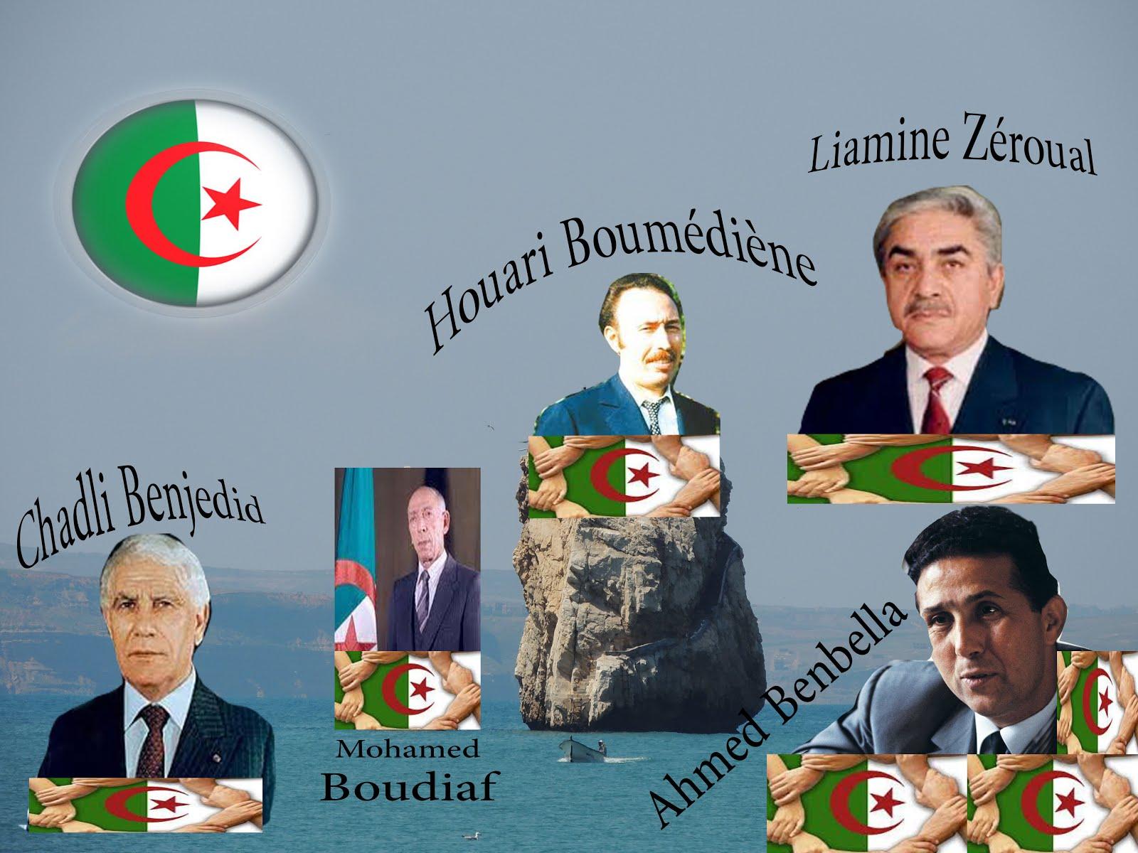 Président Algériens 1962-2018