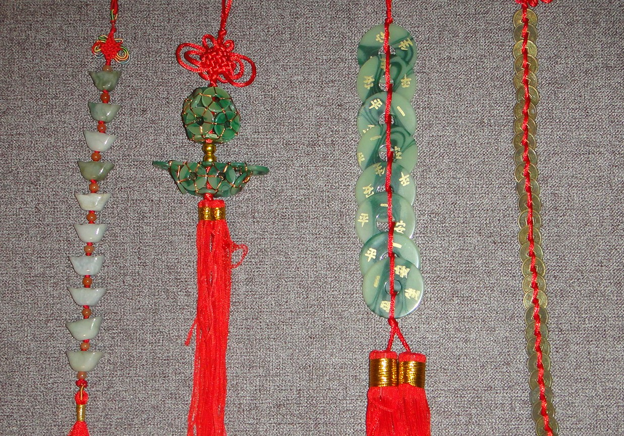 Roadtoparnassus chinese good luck charms strings of charms with yuan bao bi and coins biocorpaavc