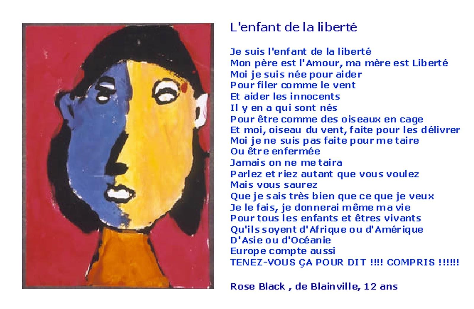 BLOG de la BIBLIOTECA del IES Mor de Fuentes (Monzón): Poema francés