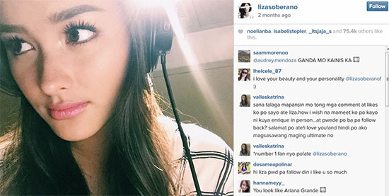 Liza Soberano from Actress up to Recording Artist