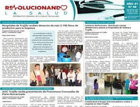 """LEE NUESTRO BOLETÍN """"INFORMATIVO SALUD"""""""