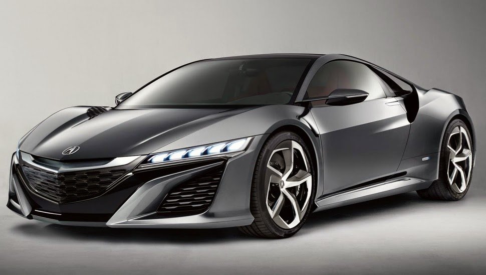 2016 Acura NSX outside, Inside
