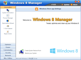 Windows 8 Manager 1.0.4 Full