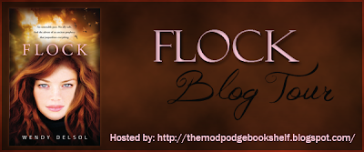 {Review+G!veaway} Flock by Wendy Delsol