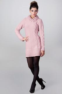 modelos de vestidos de tricô