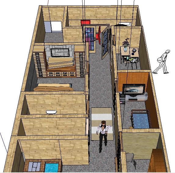 Gomez yuly plano de mi casa for Plano de mi casa