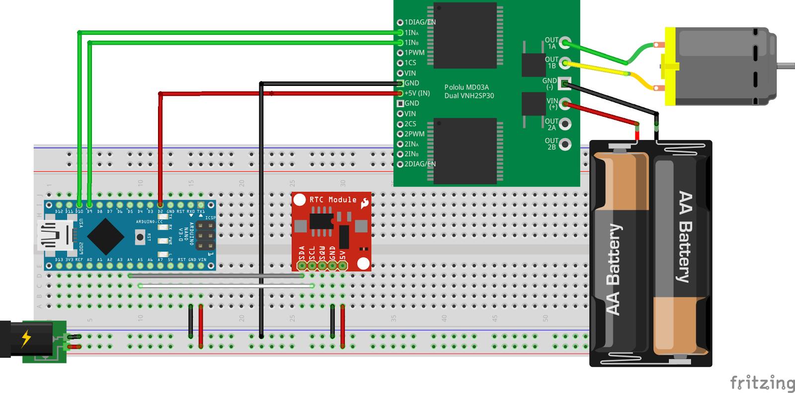Pouletronic 77 porte de poulailler part 3 arduino - Fermeture automatique porte poulailler ...