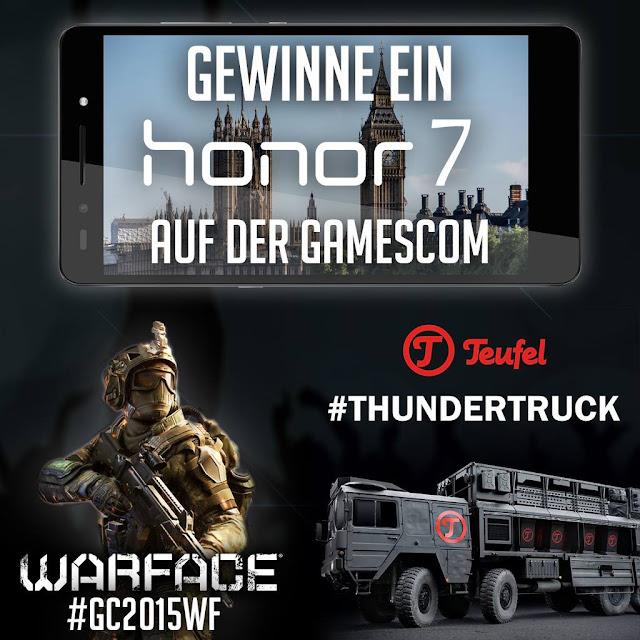 Honor verlost zusammen mit Teufel 7 brandneue Smartphones auf der Gamescom