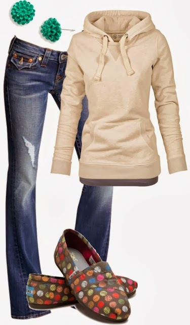 Gorgeous Combination for Ladies - Amazing Cardigan and Jeans with Suitable Shoes