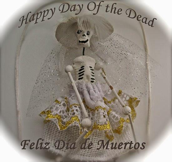 mexican bride skull