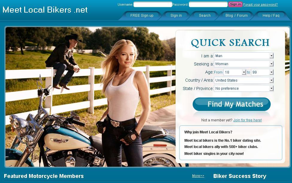 Dating sites to meet bikers