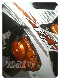 Satria Fu 150 White Fighter