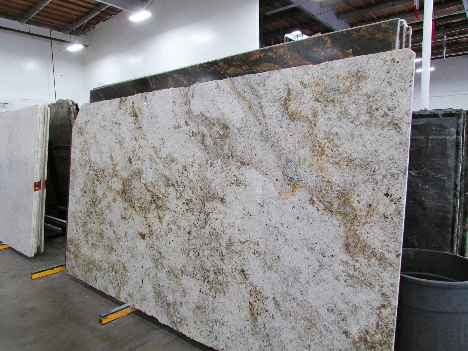 Cafe Cream Granite Slab Kitchen
