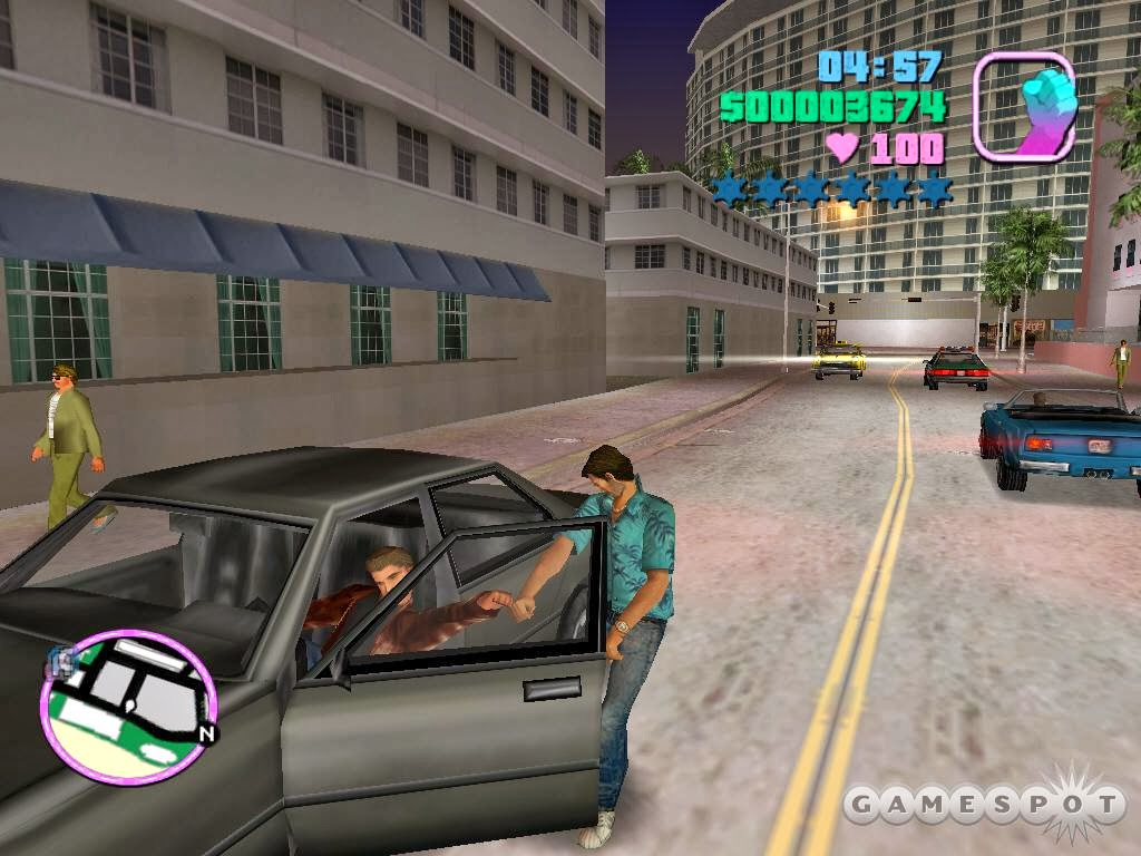 Free Grand Theft Auto Vice City Games Online