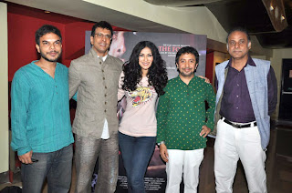 Nandana Sen and Jaaved Jaaferi at First look launch of 'The Forest' movie