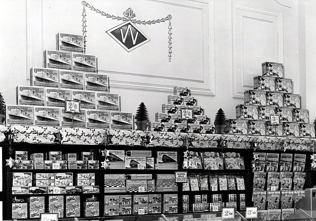 Woolworths at Christmas