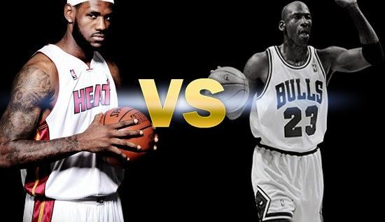 LeBron vs. Jordan