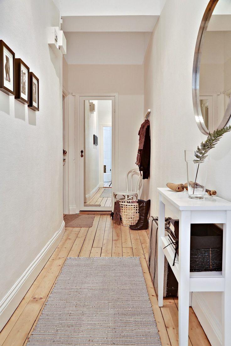 Hogar diez c mo decorar pasillos estrechos - Pintura para parquet ...