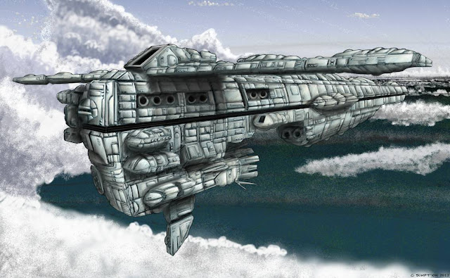 Cruiser by Chris Sumption - Digital using Painter