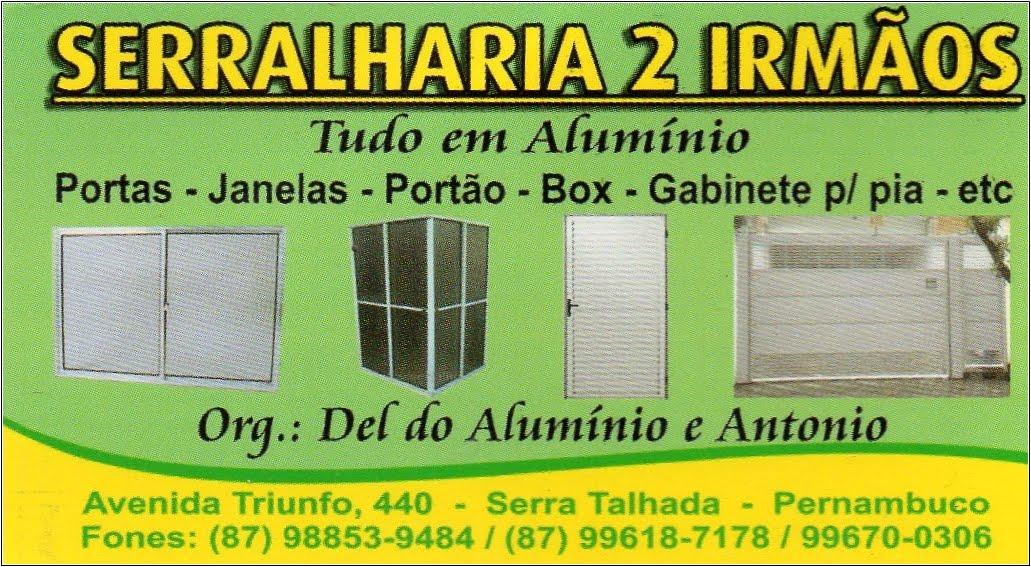 SERRALHARIA 2 IRMÃO, SERRA TALHADA-PE
