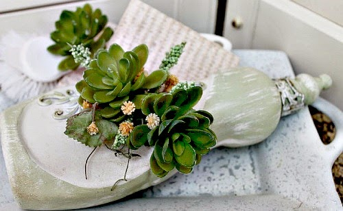Decorating with Succulents at One More Time Events.com