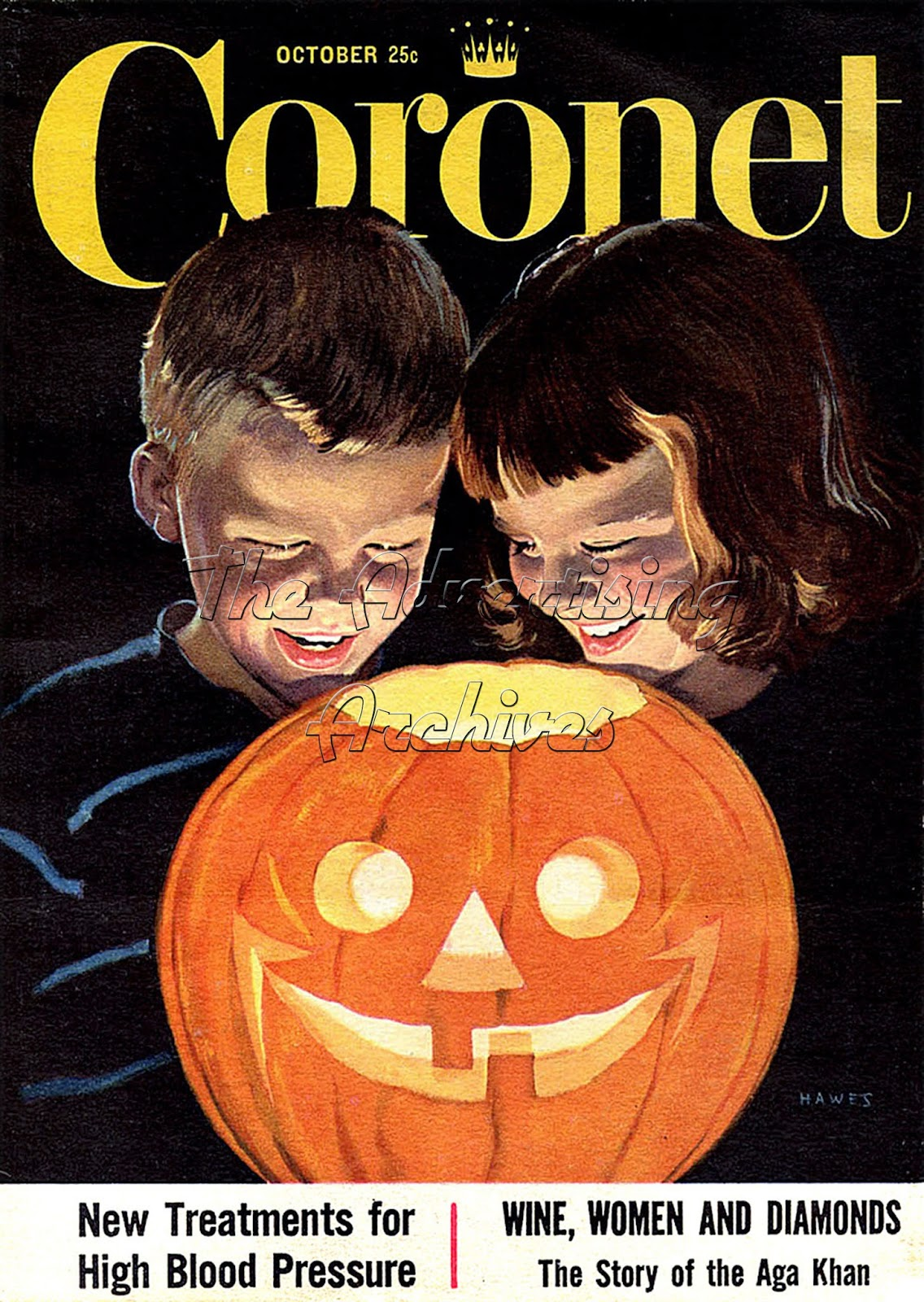 museum of advertising its halloween get your creep on - Halloween Magazines