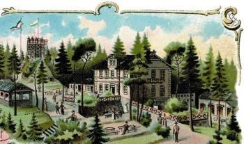 Der Borsberg um 1900