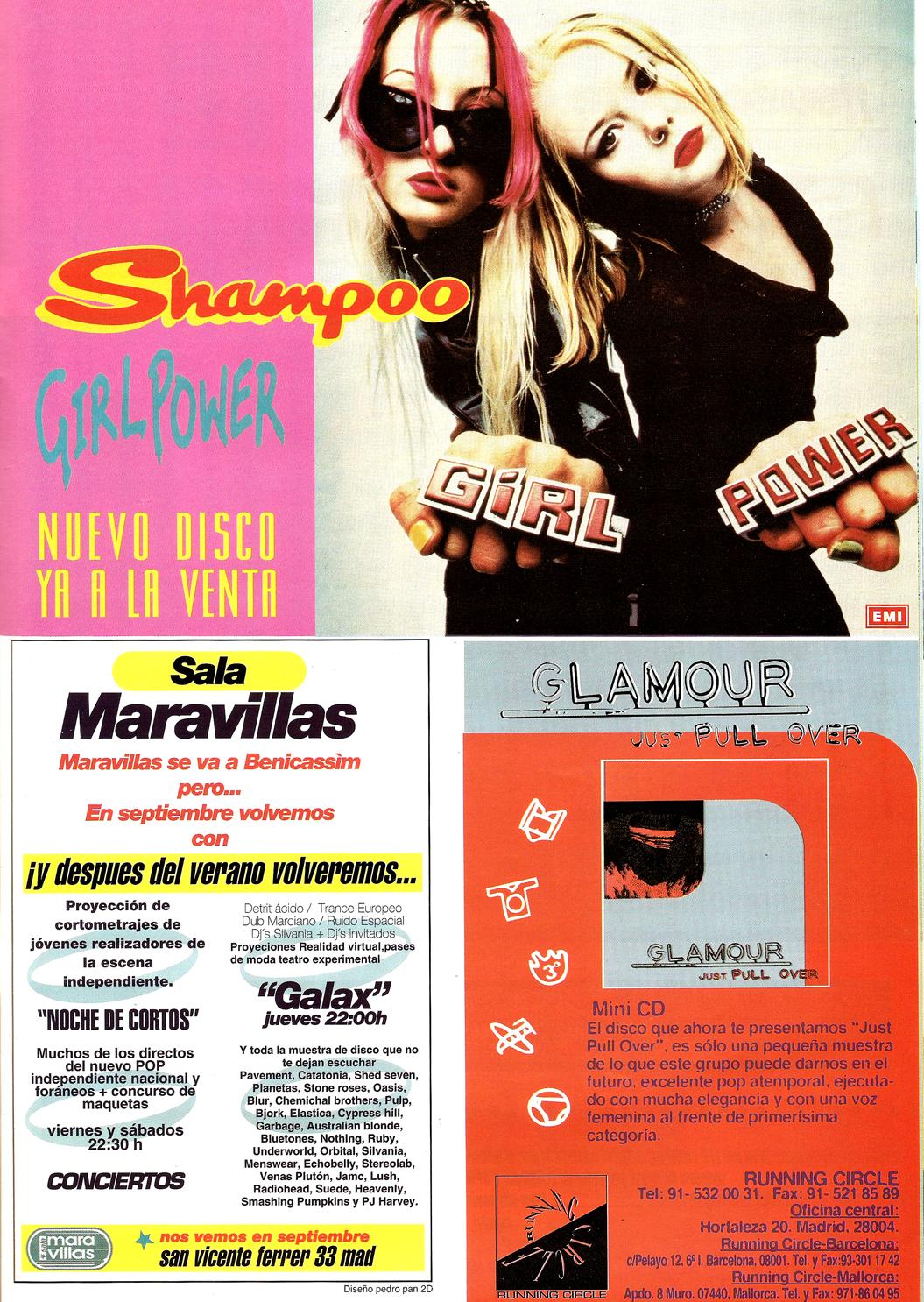 Cuando ramos alternativos anuncios shampoo sala for Sala maravillas