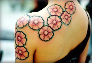 Diseños de flor tatuaje -5