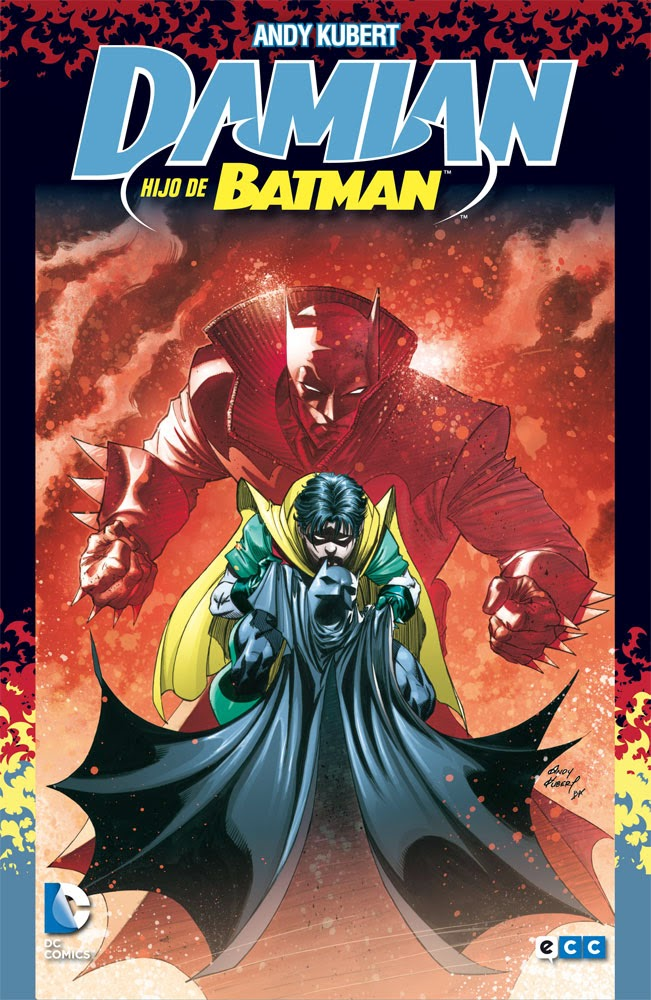 damian hijo de batman comic kubert ecc