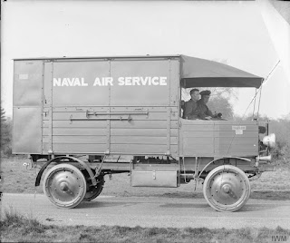 Naval Air Service truck, courtesy of the Imperial War Museum © IWM (Q 70469)