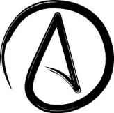 Simbol Ateis, Simbol Ateisme, Atheism Symbol, Atheist Symbol