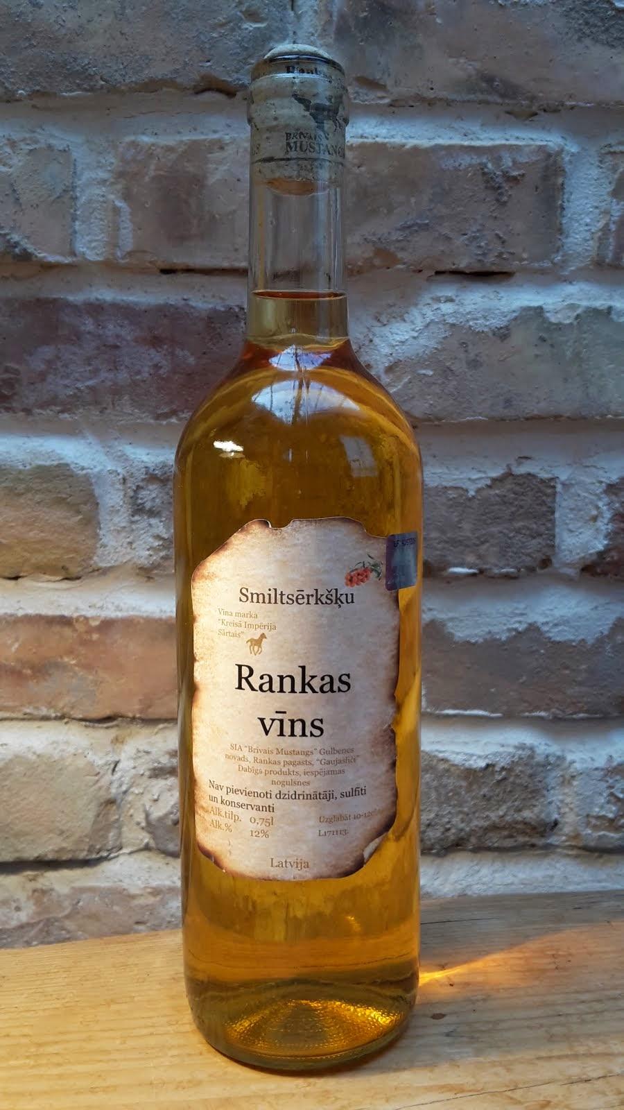 Smiltsērkšķu pussausais vīns 0.2 l, 0.75 l