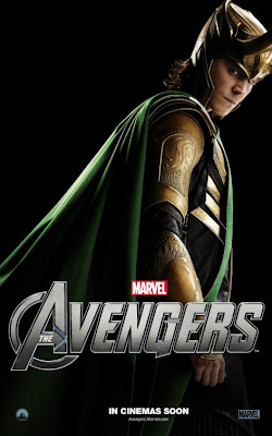 The Avengers Character One Sheet Movie Poster Set 2 - Tom Hiddleston as Loki