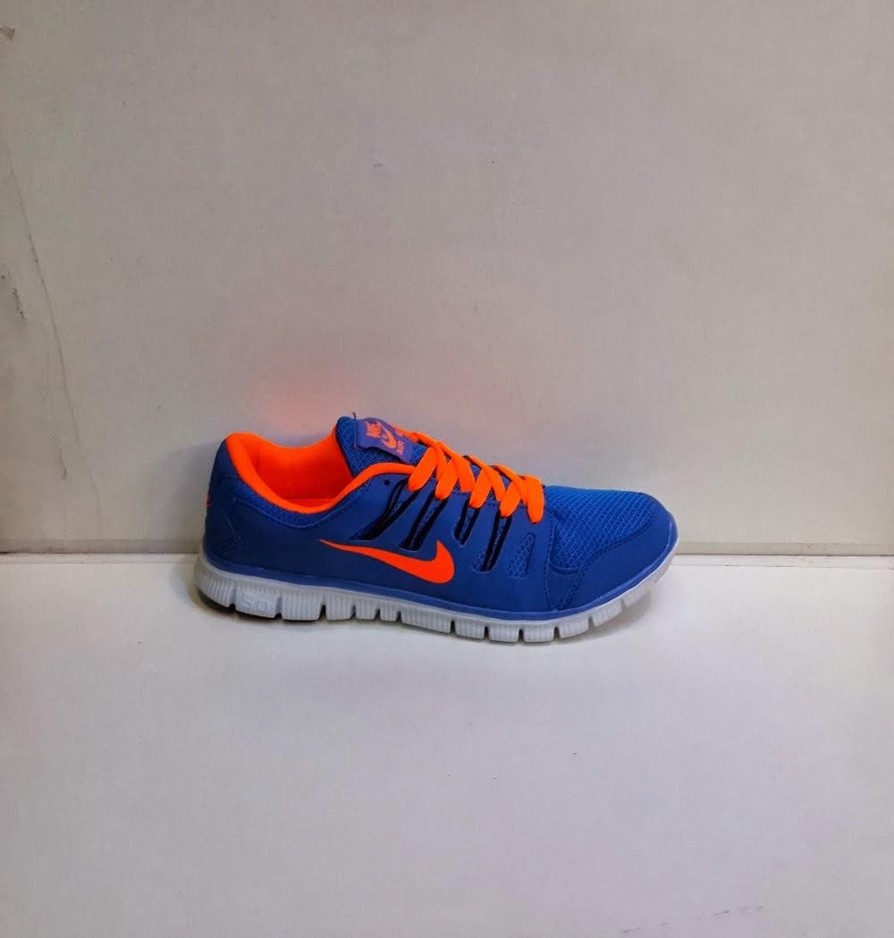 sepatu nike aerobic, nike aerobic 5.0 warna biru