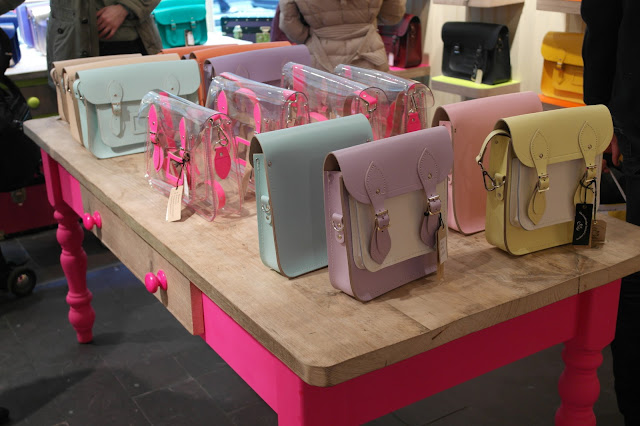 The Cambridge Satchel pastel
