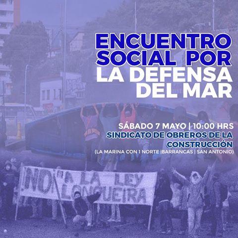 SAN ANTONIO: ENCUENTRO SOCIAL POR LA DEFENSA DEL MAR