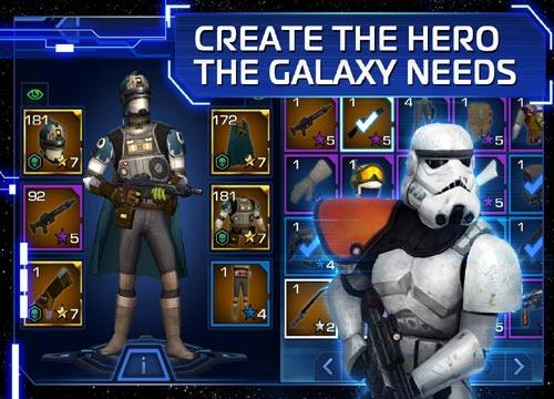 تحميل لعبة حرب النجوم Star Wars للاندرويد والاجهزة اللوحية الحديثة