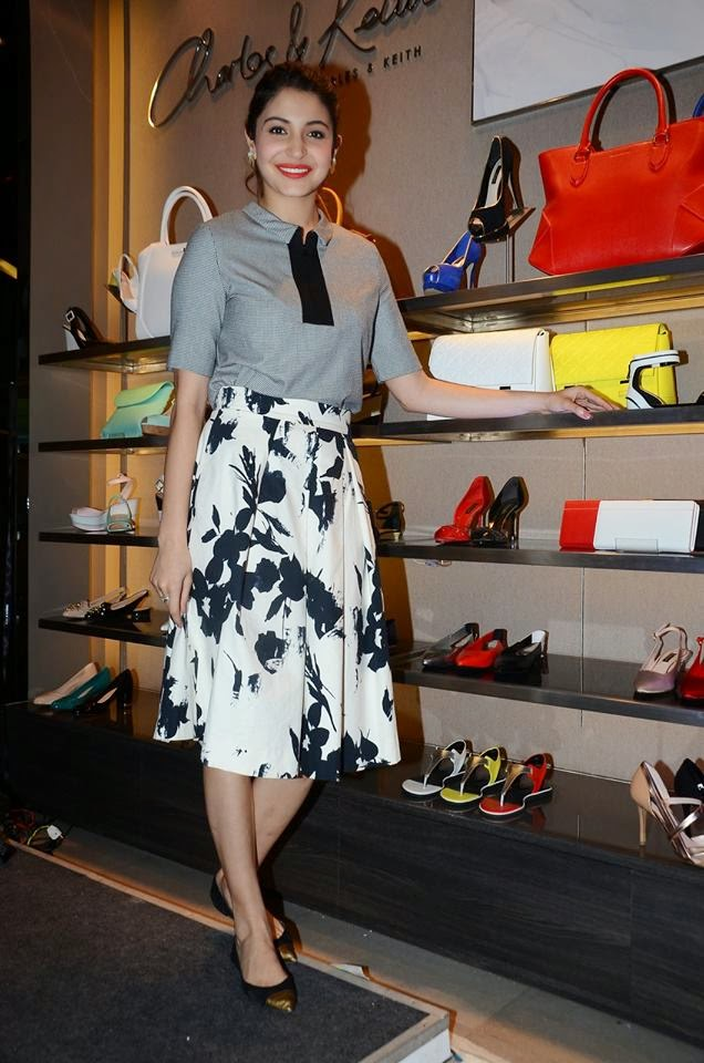 Anushka Sharma launches Charles and Keith NH10 movie Collection