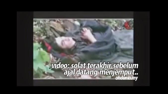 Video: Dalam Keadaan Nazak, Solat Terakhir Sebelum Ajal Menjemput !..