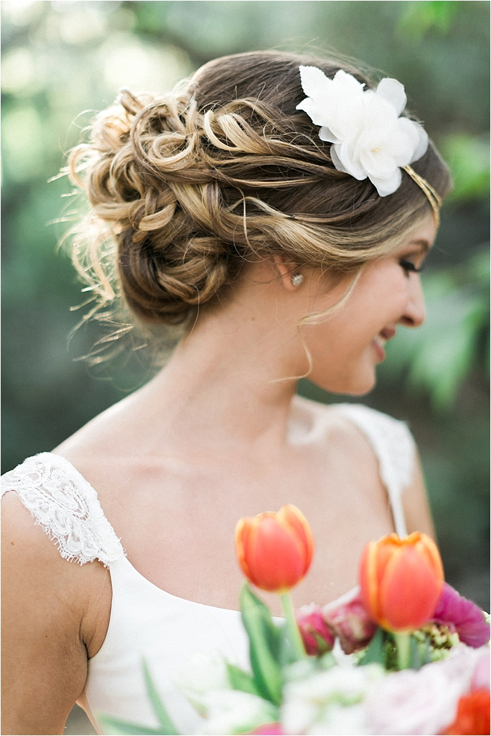 Formal Bridal Up-Do