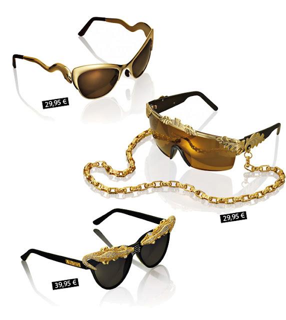 Anna dello Russo for H&M collection sunglasses prices
