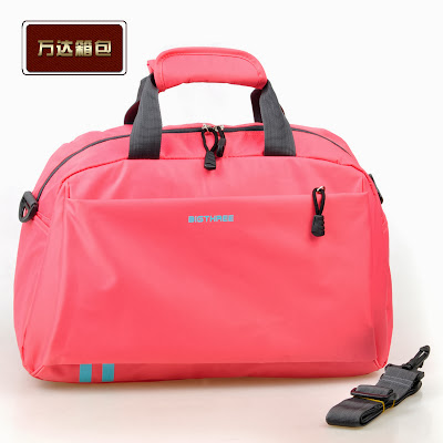 Unique Womens Pink Overnight Weekend Gym Bag Ladies Girls Sports Travel Holdall | EBay