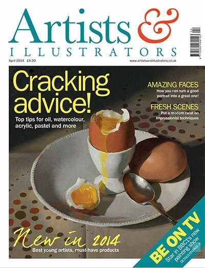 Artists and Illustrator Magazine April 2014