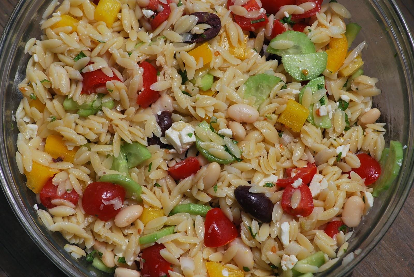 Greek Orzo Salad Recipes — Dishmaps