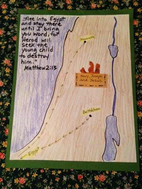 children 39 s bible lessons lesson flight to egypt. Black Bedroom Furniture Sets. Home Design Ideas
