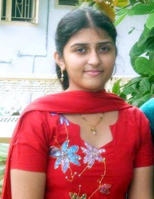 Beautiful Coimbatore college girl.