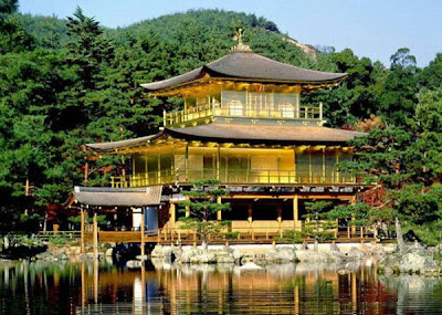 Golden Pavilion, Kyoto, Pulau Honshu, Jepang